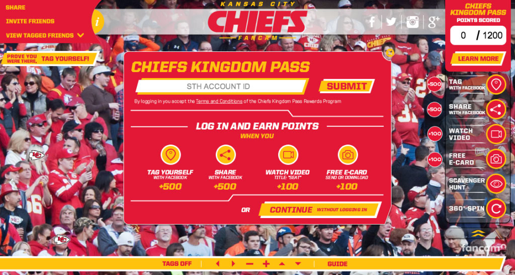 Case Study: Loyalty Integration for KC Chiefs