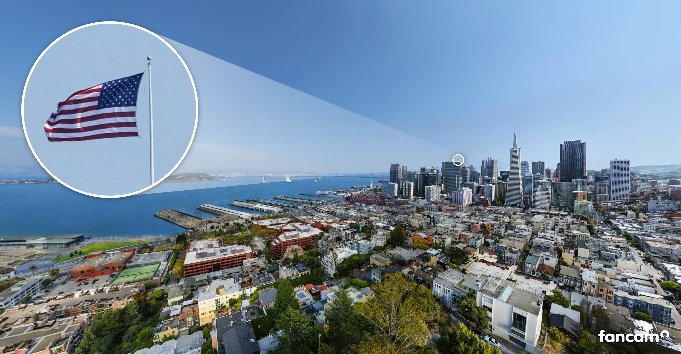 Bud Light CityCam – The highest resolution image of San Francisco