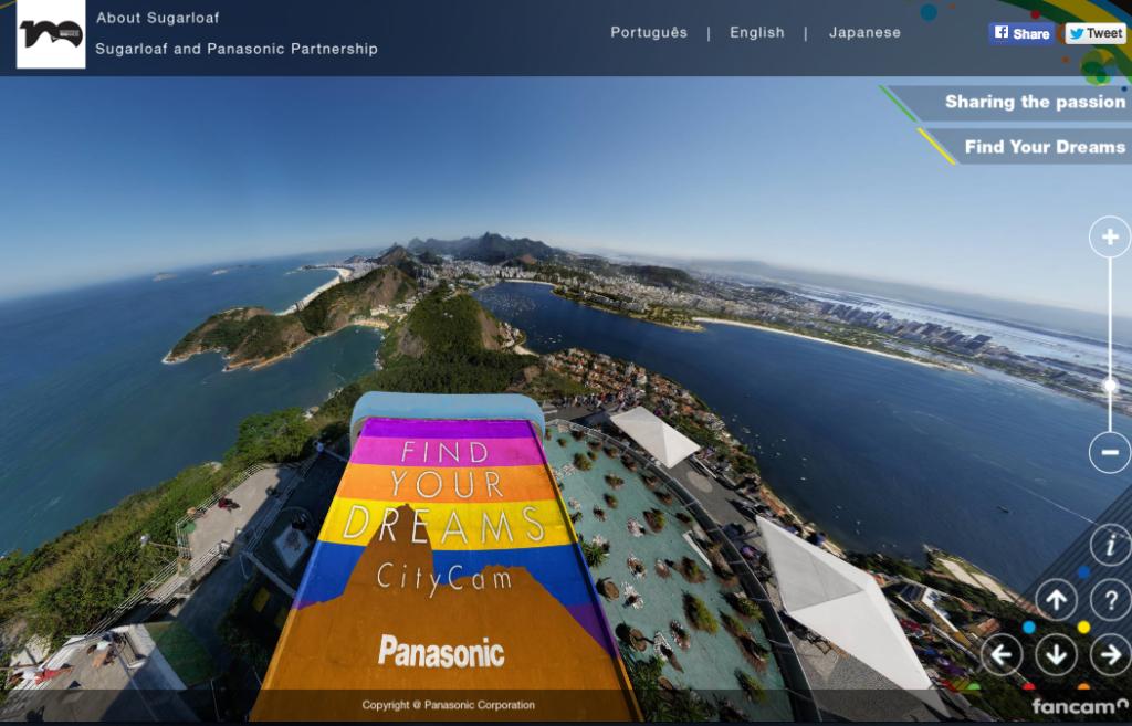 Rio de Janeiro Olypmics citycam