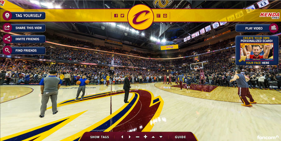 Cavs home opener – a showcase in marketing