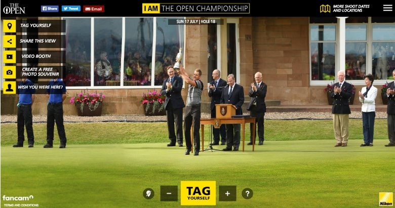 First Nikon Fancam at the 2016 British Open