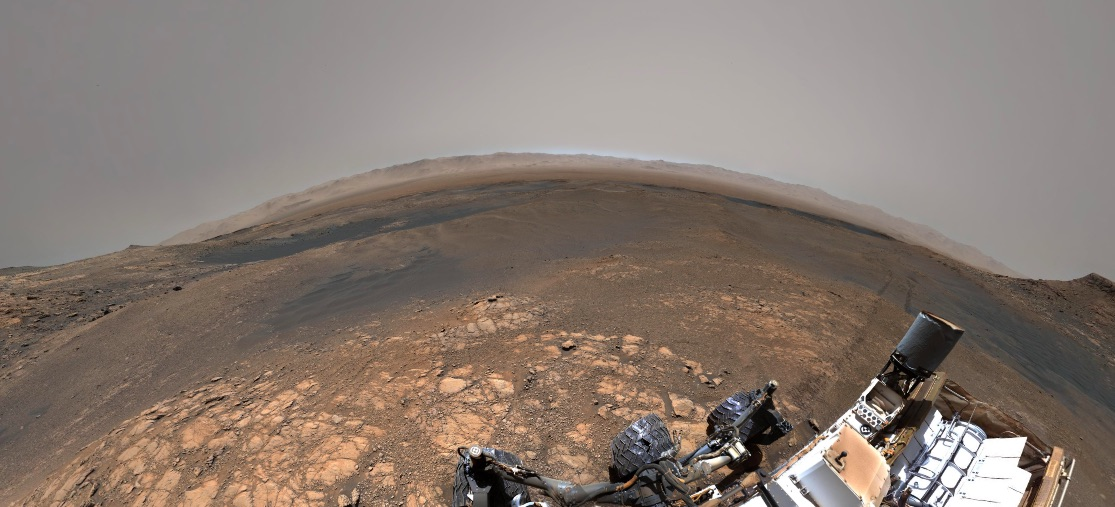 A cooler version of the Mars gigapixel image.
